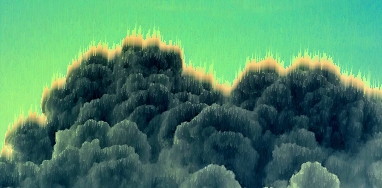 burning-green-clouds