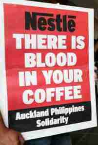 nestle has blood
