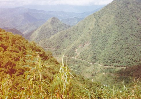 Mountain Province road 1996