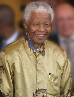 Mandela from wikimedia commons
