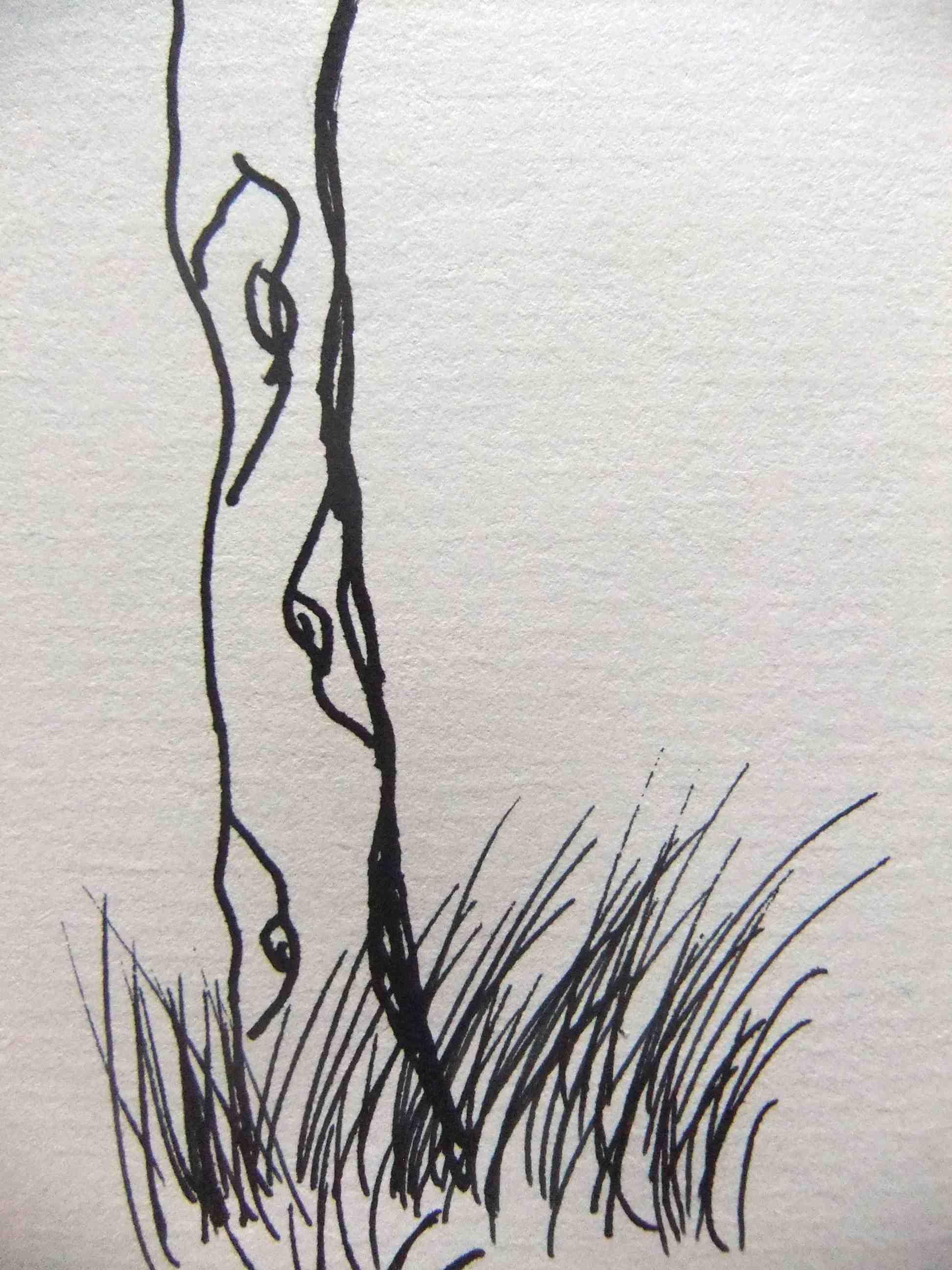 the unspoken child doodle